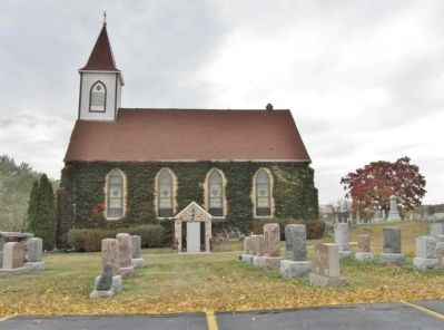 Saint John Evangelical Lutheran Church image. Click for full size.