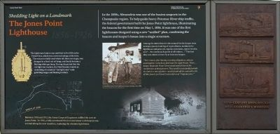 The Jones Point Lighthouse Marker image. Click for full size.
