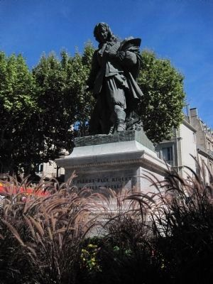 Statue of Pierre Paul Riquet image. Click for full size.