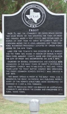 Frost Marker Photo, Click for full size