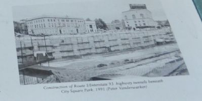 City Square: Marker Photo, Click for full size