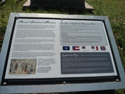 Point Lookout Prison Marker Photo, Click for full size
