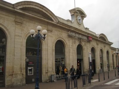Gare du Beziers image. Click for full size.