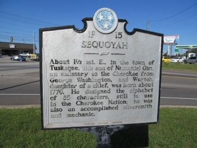 Sequoyah Marker image. Click for full size.