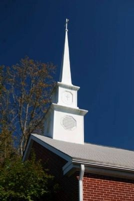 Gilgal UMC Steeple image. Click for full size.