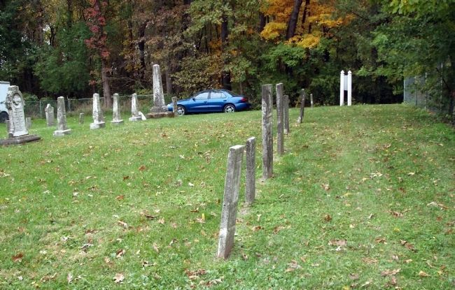 Long View - - Hooker Cemetery Marker image. Click for full size.