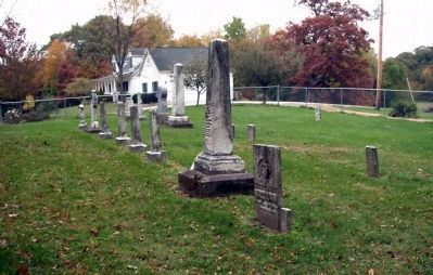 Looking North - - Hooker Cemetery image. Click for full size.