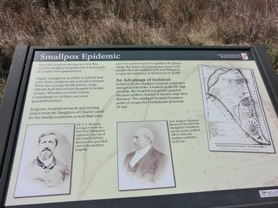 Smallpox Epidemic Marker Photo, Click for full size