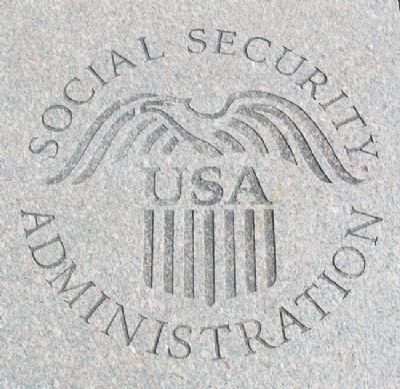 Building Occupants Social Security Admin Emblem Photo, Click for full size