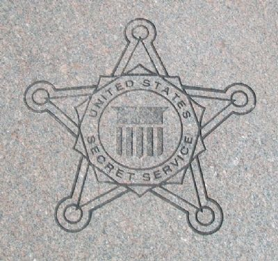 Building Occupants Secret Service Emblem Photo, Click for full size