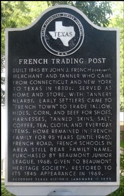 French Trading Post Marker Photo, Click for full size