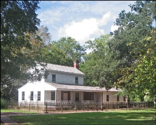 Home of John French, owner of French Trading Post image. Click for full size.