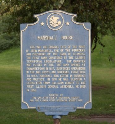 Marshall House Marker image. Click for full size.