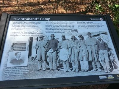 """Contraband"" Camp Marker Photo, Click for full size"