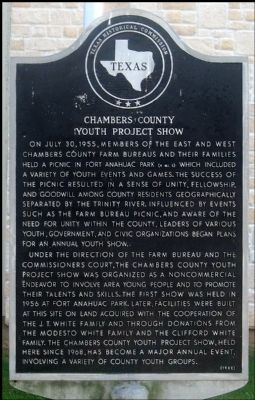 Chambers County Youth Project Show Marker image. Click for full size.