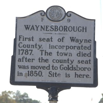 Waynesborough Marker Photo, Click for full size