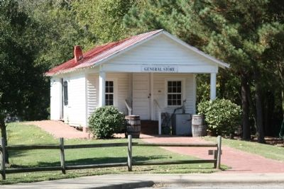 The General Store in the Historical Village Photo, Click for full size