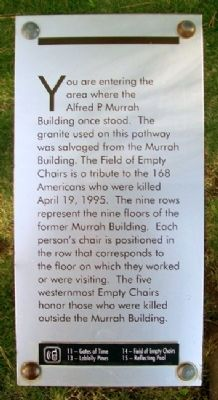 The Field of Empty Chairs Marker Photo, Click for full size