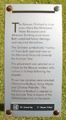 Rescuer Orchard Marker image. Click for full size.