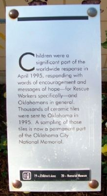 Children's Area Marker Photo, Click for full size
