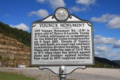 Young's Monument Marker image. Click for full size.