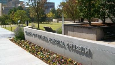 Oklahoma City National Memorial & Museum Sign & Marker Photo, Click for full size