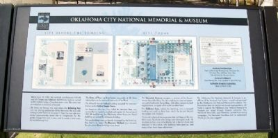 Oklahoma City National Memorial & Museum Marker Photo, Click for full size
