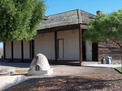 Jos� Eusebio Boronda Adobe Casa Photo, Click for full size