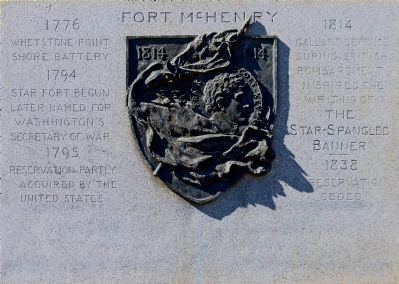 Fort McHenry Marker image. Click for full size.