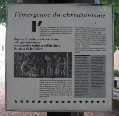 L��mergence du Christianisme Marker image. Click for full size.