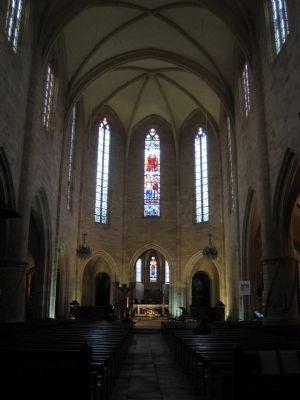 Interior of Saint-Sacerdos Cathedral image. Click for full size.