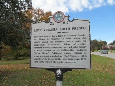 Lucy Virginia Smith French Marker image. Click for full size.