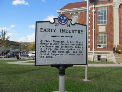 Early Industry Marker image. Click for full size.