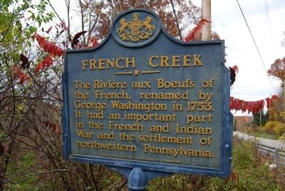 French Creek Marker image. Click for full size.
