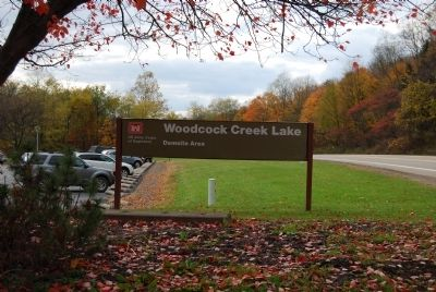 Woodcock Creek Lake Day Use Area Photo, Click for full size