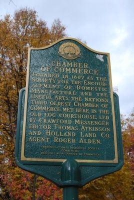 Chamber of Commerce Marker Photo, Click for full size