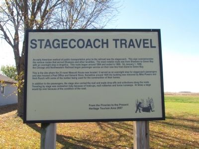 Stagecoach Travel Marker image. Click for full size.