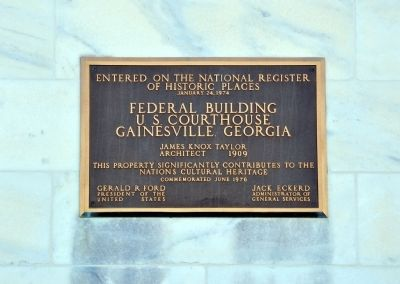 Federal Building Marker image. Click for full size.
