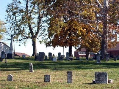 Looking East - - Montezuma Cemetery image. Click for full size.