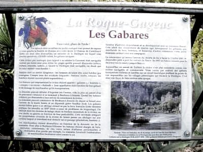 Les Gabares Marker Photo, Click for full size