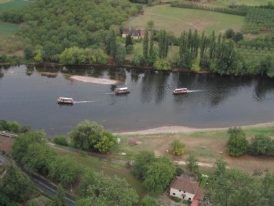 Les Gabares on the Dordogne River Photo, Click for full size