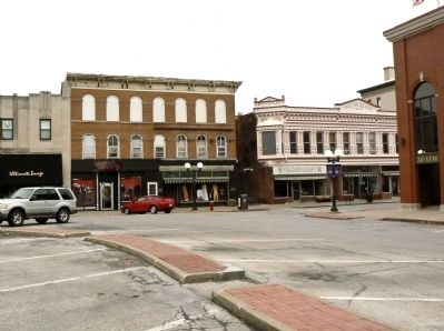 South East Corner of the Courthouse Square Photo, Click for full size
