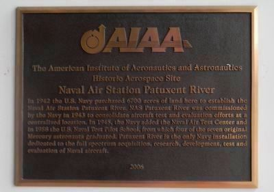"""American Institute of Aeronautics and Astronautics - Historic Aerospace Site"" Photo, Click for full size"