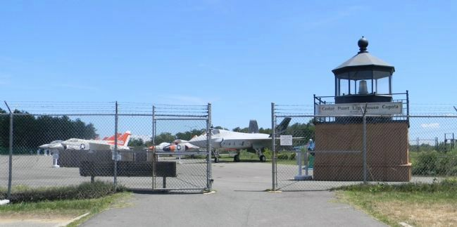 Entrance to the museum's historic aircraft display area Photo, Click for full size