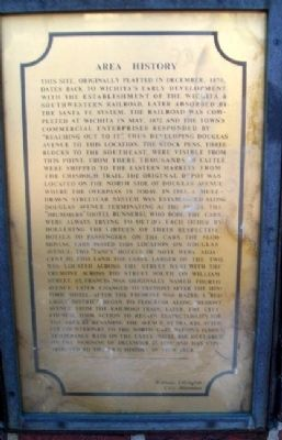 Area History Marker Photo, Click for full size