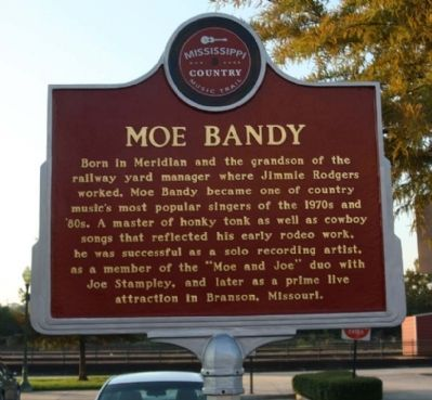 Moe Bandy Marker image. Click for full size.
