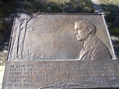 Stephen Tyng Mather Marker Photo, Click for full size