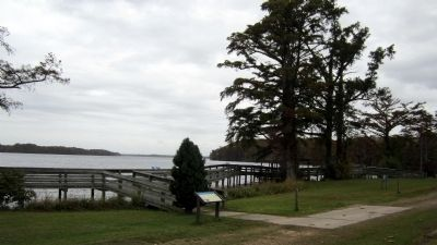 War on the Chowan River CWT Marker Photo, Click for full size