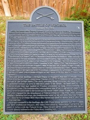 The Battle of Windsor Marker image. Click for full size.
