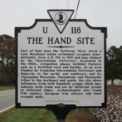 The Hand Site Marker image. Click for full size.